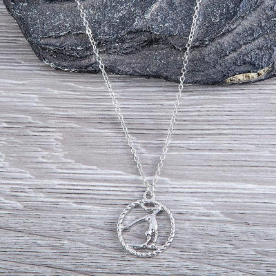 Gymnastics Necklace - Sportybella