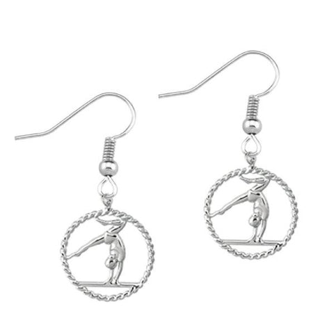 Gymnastics Earrings - Sportybella