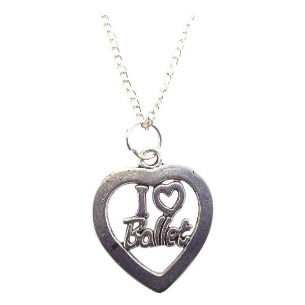 Girls Ballet Necklace - Sportybella
