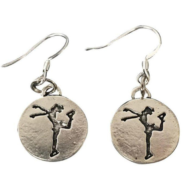 Figure Skating Earrings - Sportybella