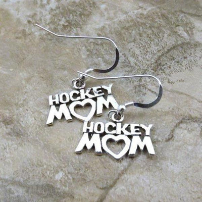 Ice Hockey Mom Earrings