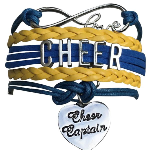 Cheer Captain Bracelet - 19 Team Colors - Sportybella