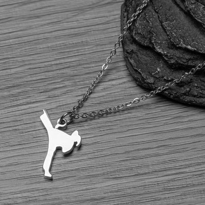 Martial Arts Stainless Steel Necklace