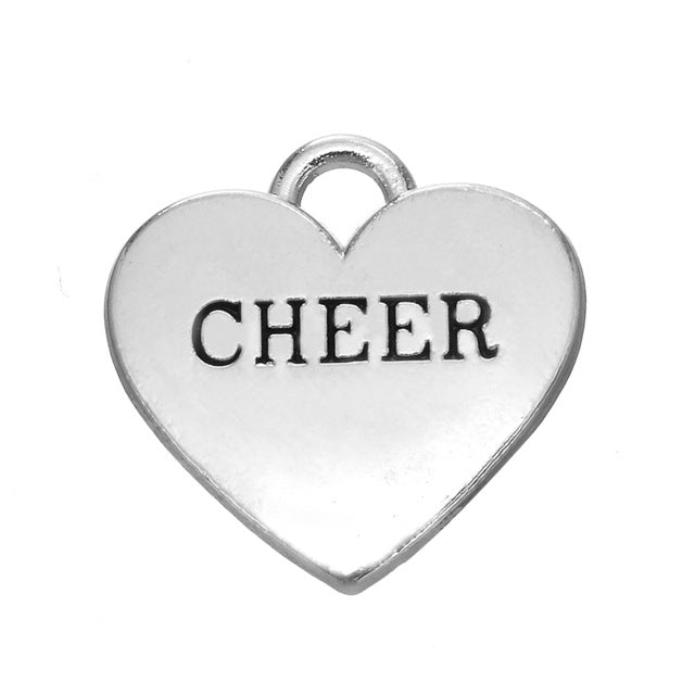 Cheer Heart Charm - Sportybella