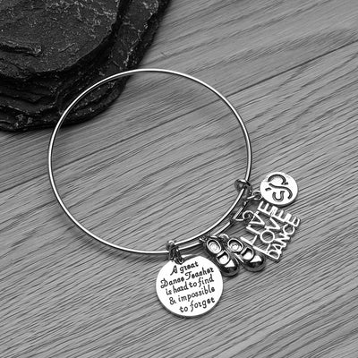 Tap Dance Teacher Bangle Bracelet