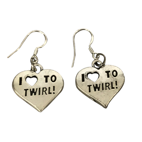 Twirling Earrings - Sportybella
