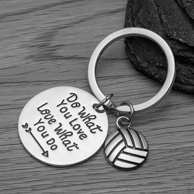 Volleyball Keychain- Do What You Love