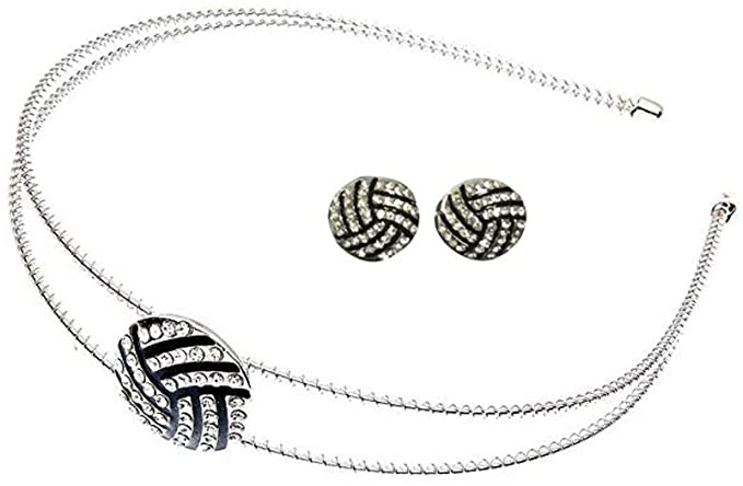 Volleyball Headband and Earring Set