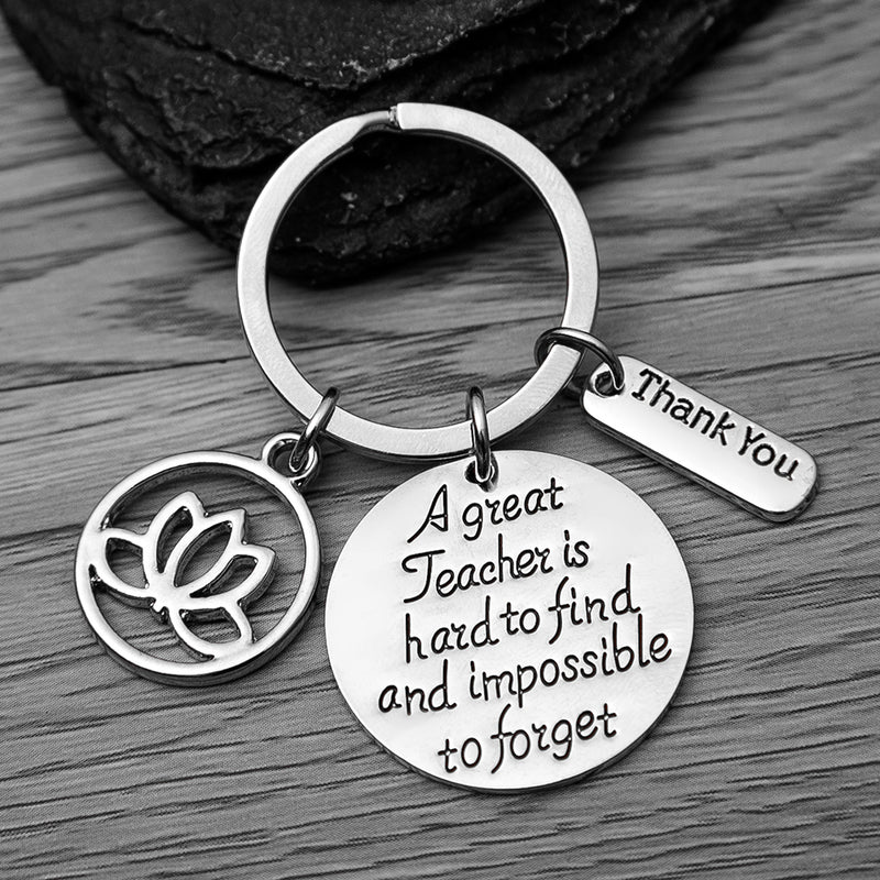 Yoga Teacher Keychain