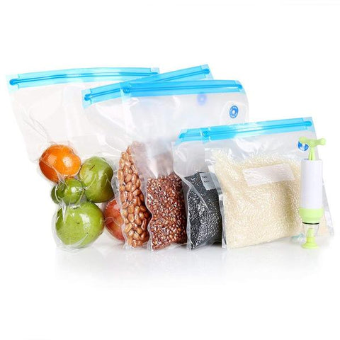 PumpyBags - The Intelligent Food Storage Solution
