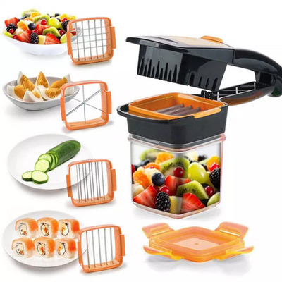 Quick Slicer, the revolutionary 6 in 1 vegetable slicer