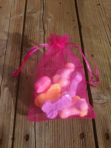 Bag of dicks, bachelorette party favors, novelty bath bombs, gag gift, mature content, penis shaped bath bombs, bridal party decorations