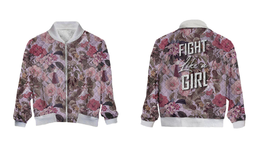 PRE-ORDER:: Holiday 2018 - Fight Like a Girl- Bomber Jacket