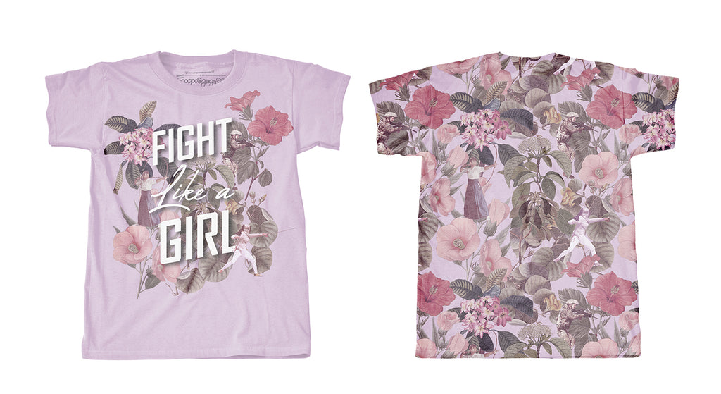 PRE-ORDER:: Holiday 2018 : FIGHT LIKE A GIRL - Shirts