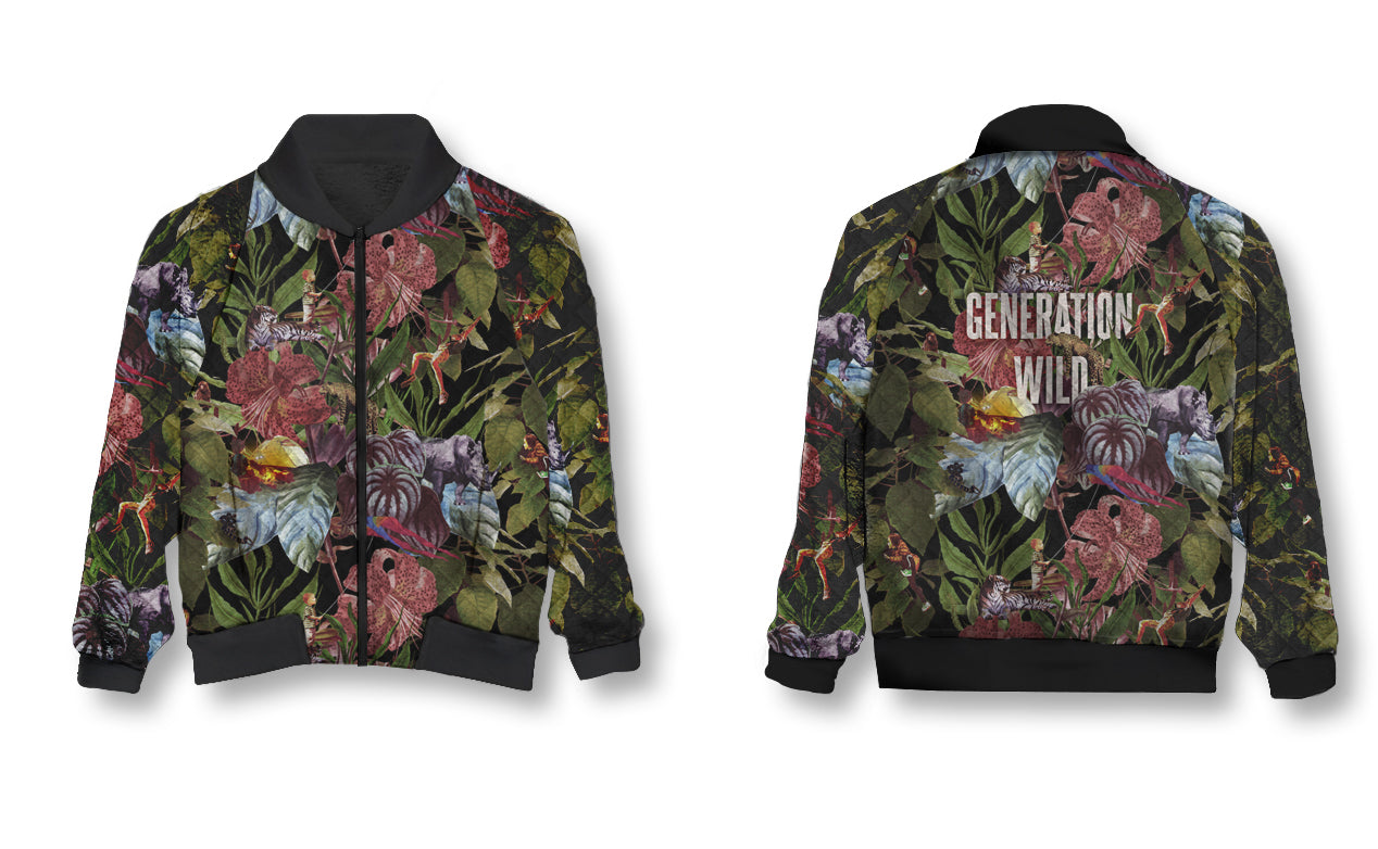 PRE-ORDER:: Holiday 2018 - Generation Wild- Bomber Jacket