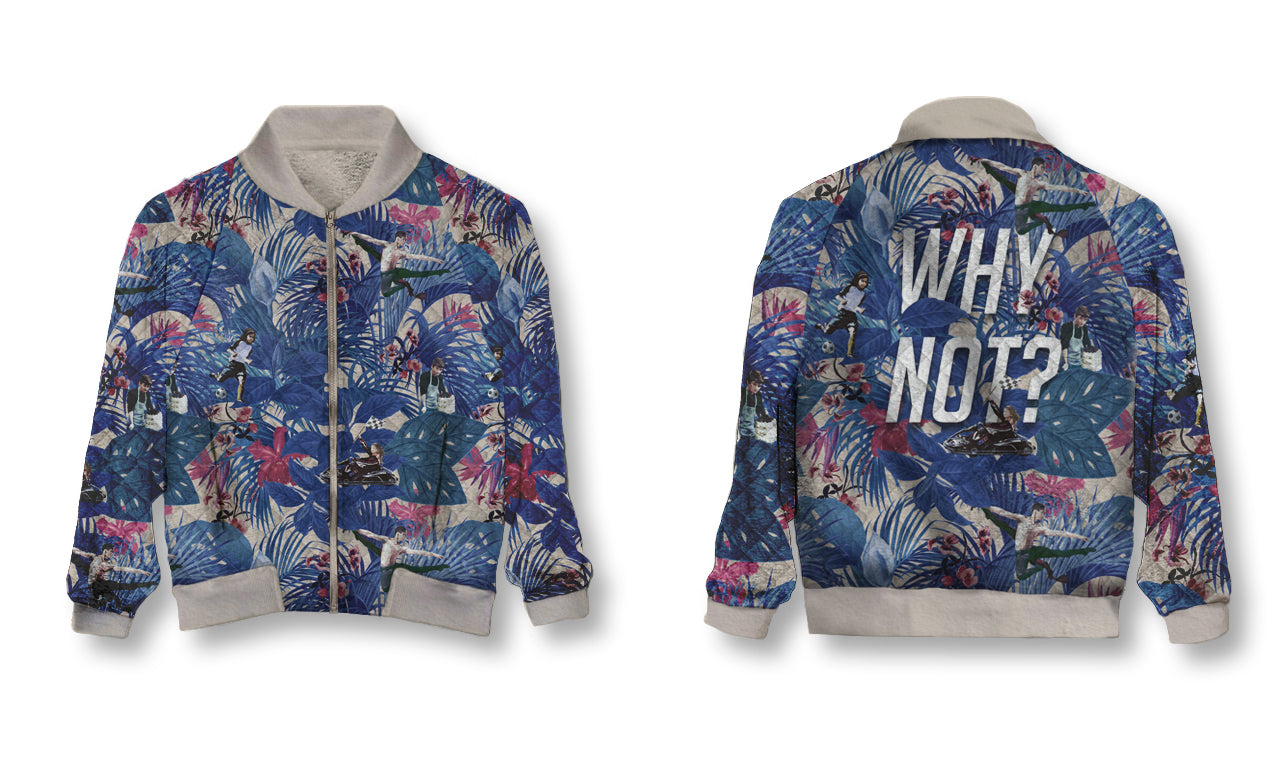 PRE-ORDER:: Holiday 2018 - Why Not - Bomber Jacket
