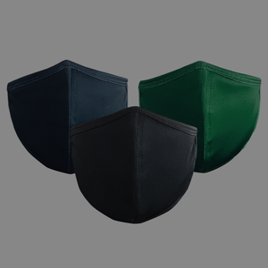 Black, Navy, & Army 3-PACK Face Mask