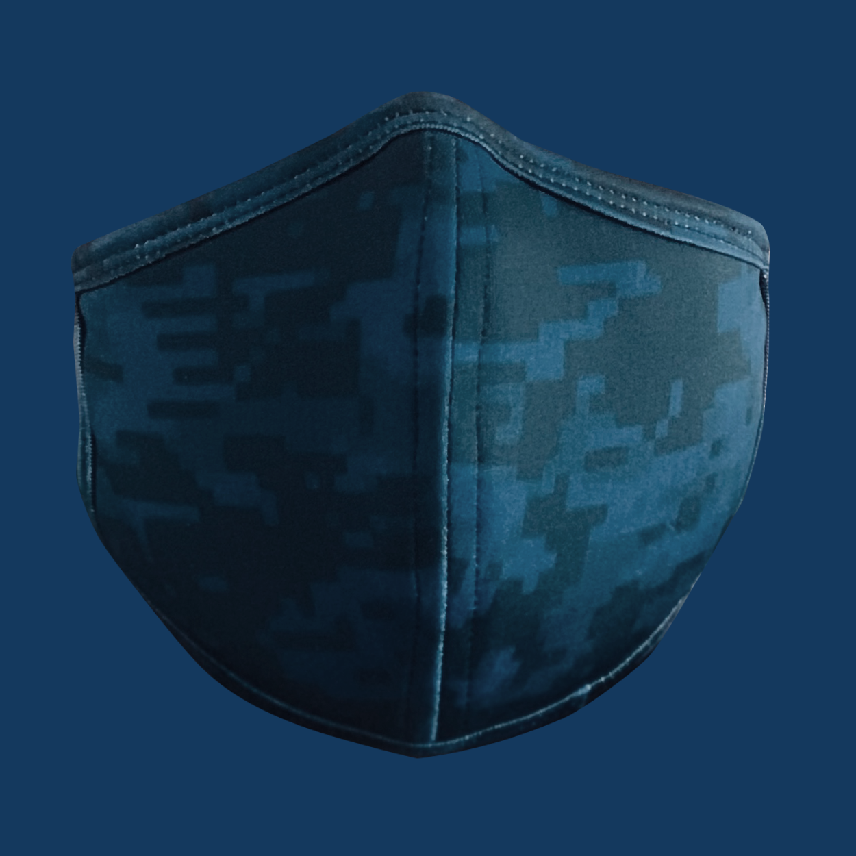 CAMO NAVY BLUE Face Mask (SOLD OUT!)