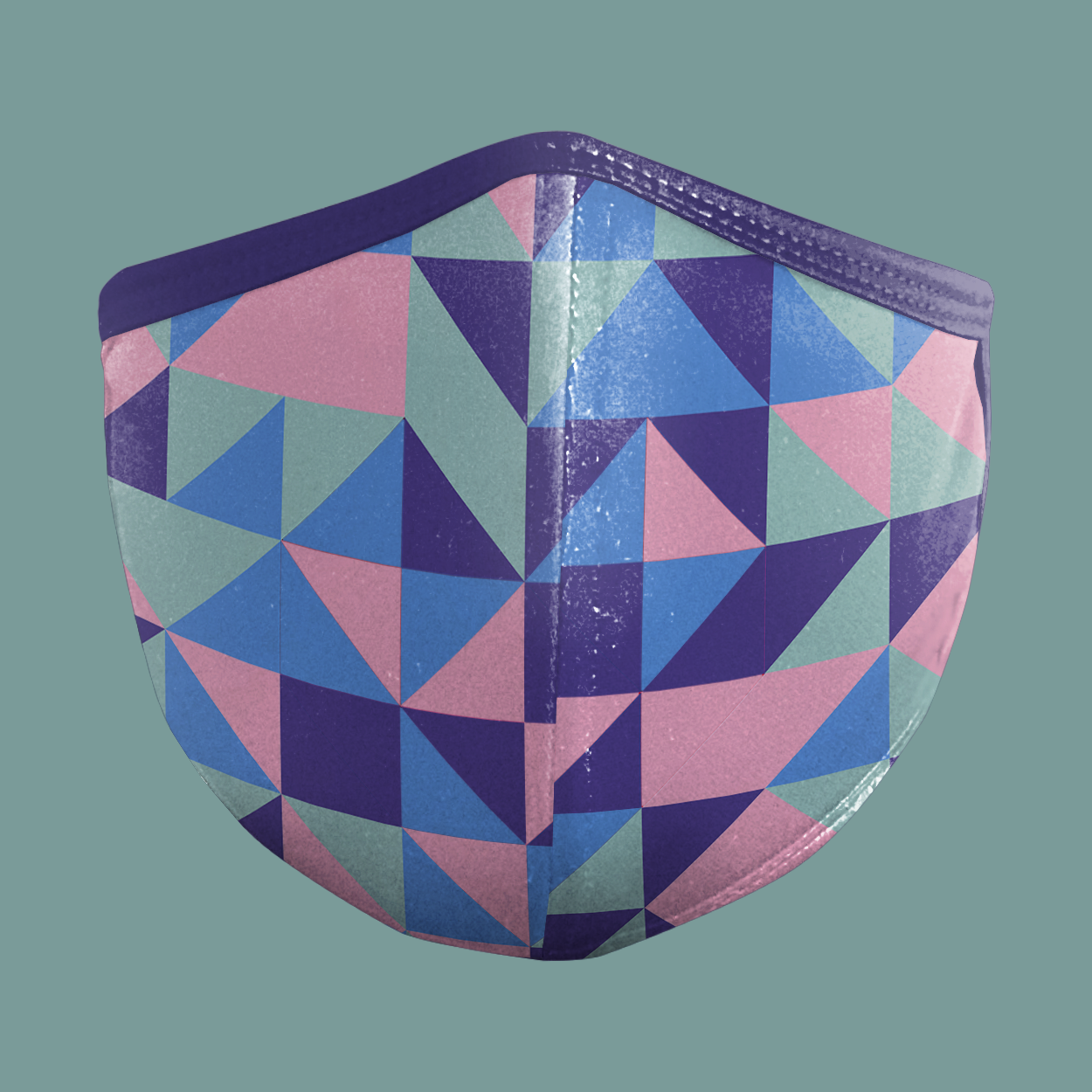 (Geometrics Series) GEO HEART Face Mask