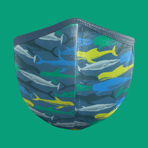 (Nature Series) WHALE CAMO Face Mask