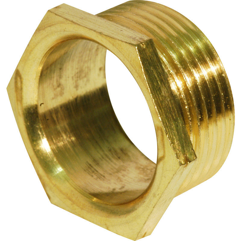 MALE BRASS BUSHES 25MM (PKT X100)