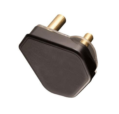 PLUG TOP 3 PIN 16A BLACK