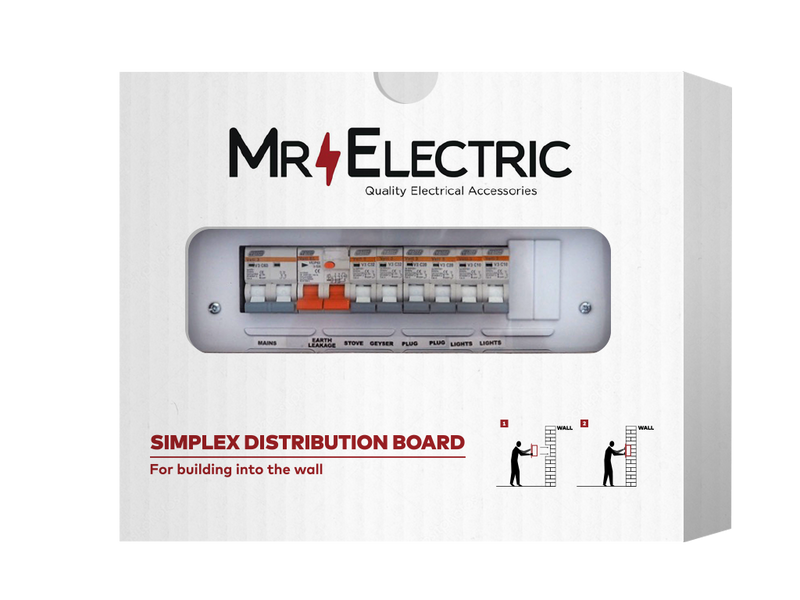 MR ELECTRIC PREPOPULATED ECONO FLUSH DISTRIBUTION BOARD