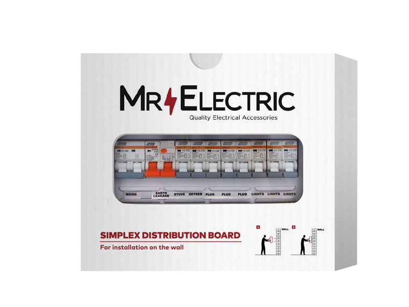 MR ELECTRIC PREPOPULATED EXTENDED SURFACE DISTRIBUTION BOARD