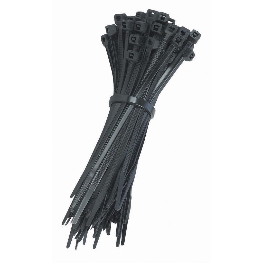 MR ELECTRIC CABLE TIES T50R 200MM BLACK