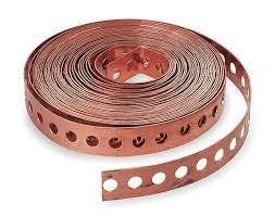 COPPER STRAPPING 0.5MM X 12MM 10M