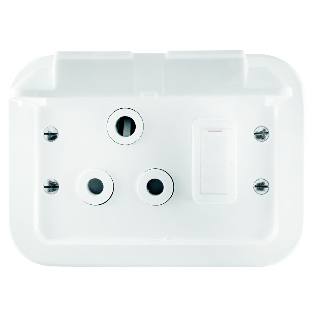 Weatherproof Switches Sockets Dynamic Distributors Box Industrial Plastic Waterproof Electrical Junction Crabtree Single Socket Metal Surface