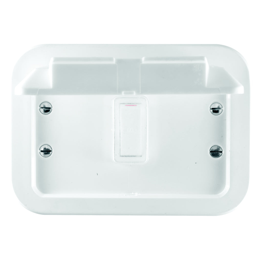 CRABTREE INDUSTRIAL SINGLE SOCKET PLASTIC SURFACE