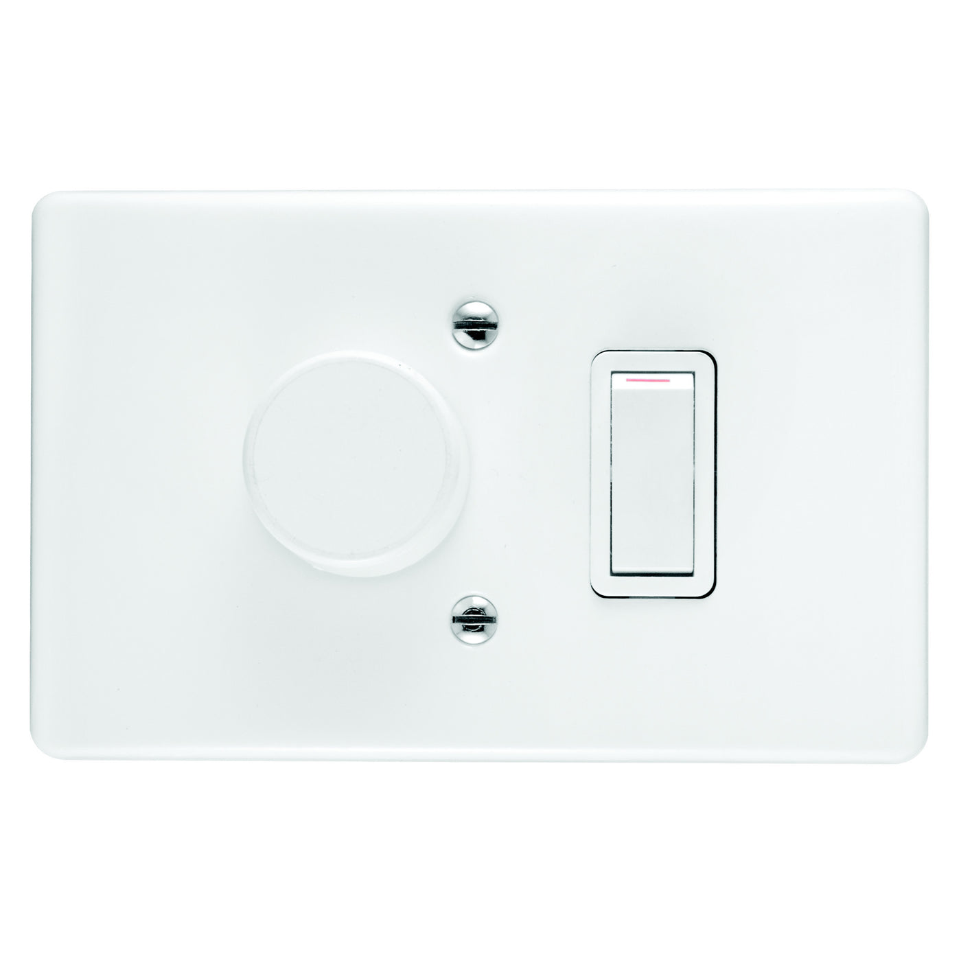CRABTREE CLASSIC DIMMER SWITCH 1 LEVER COVER 4X2 500W LED