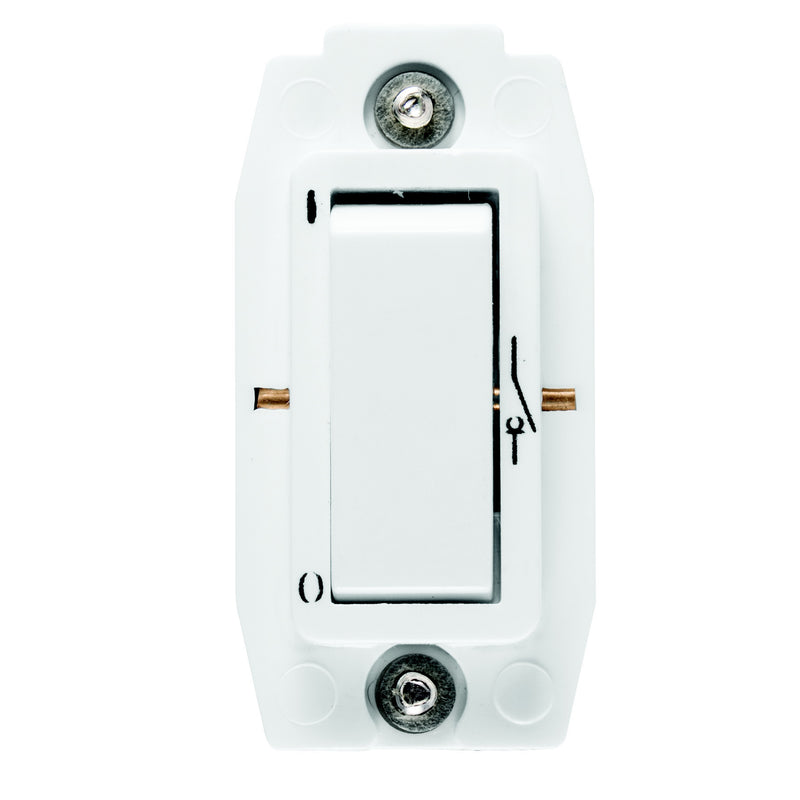 CRABTREE CLASSIC 1 WAY 20A DOUBLE POLE SWITCH MODULE (SCREW IN)