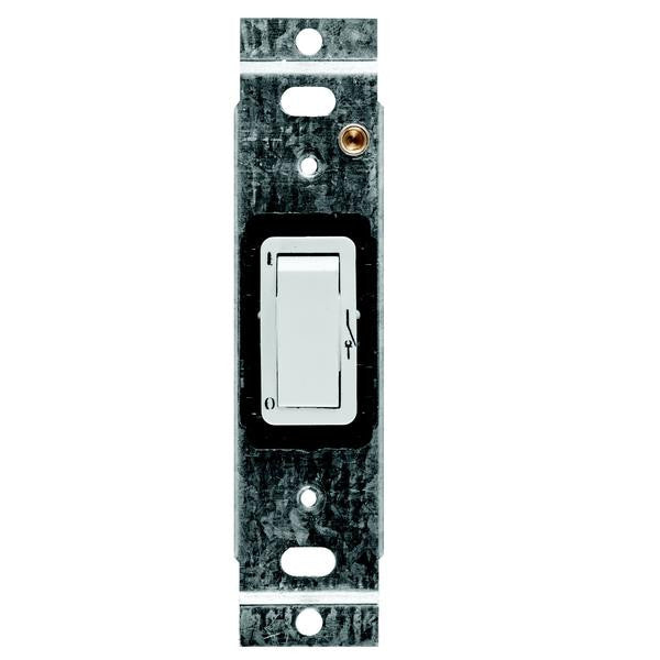 CRABTREE CLASSIC 1 LEVER 1 WAY PARTITION SWITCH + YOKE 30x25mm
