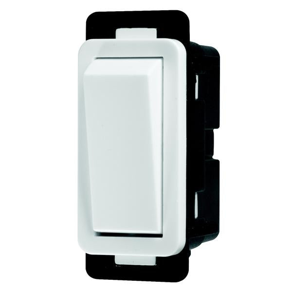 CRABTREE CLASSIC 2 WAY 20A SWITCH MODULE (CLIP IN)