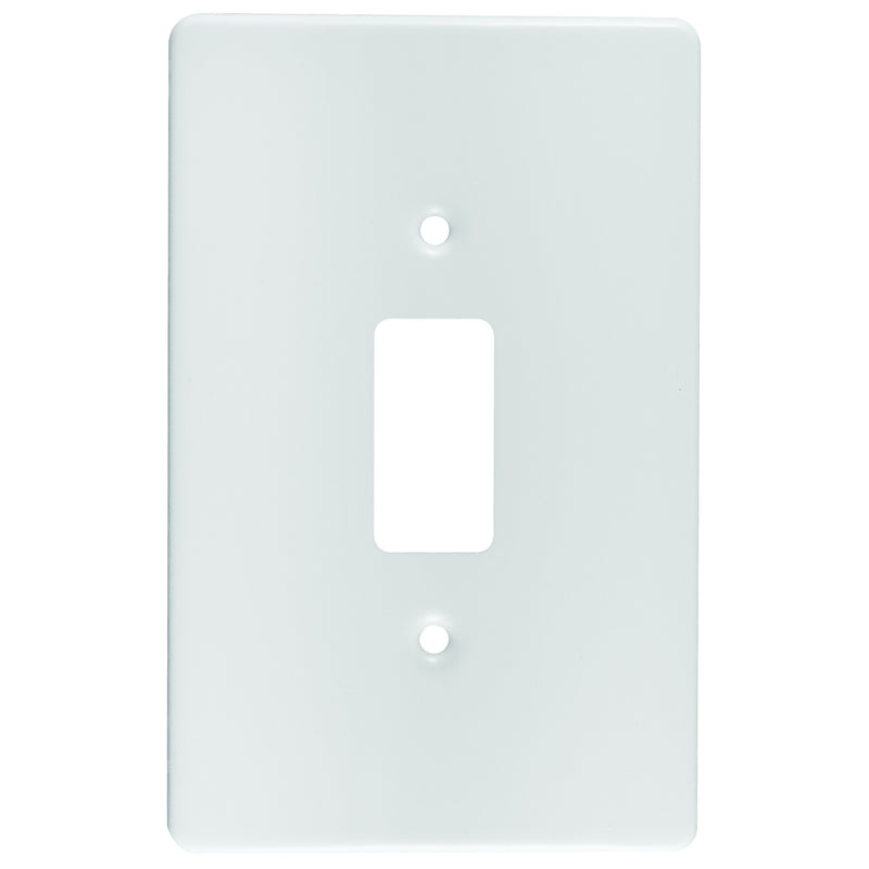 CRABTREE CLASSIC 1 LEVER COVERPLATE PLASTIC 4X2