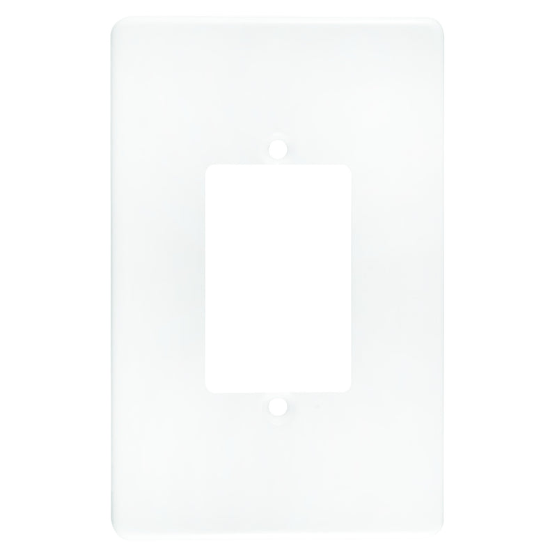 CRABTREE CLASSIC 3 LEVER COVERPLATE STEEL 4X2