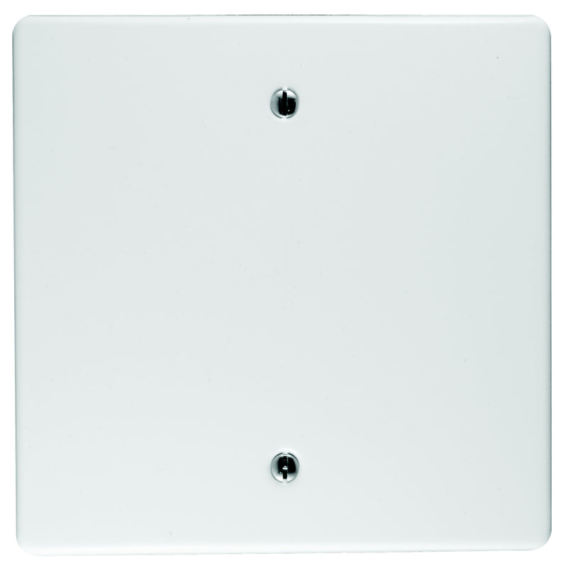 CRABTREE CLASSIC BLANK COVERPLATE STEEL 4X4