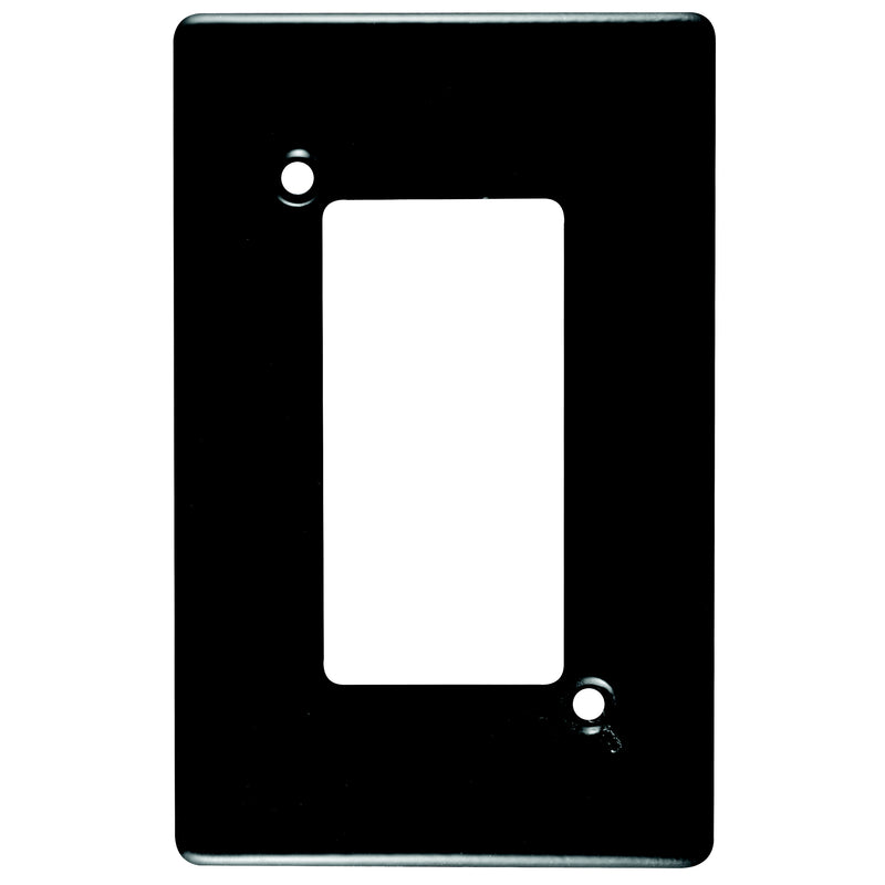 CRABTREE CLASSIC 4 LEVER COVERPLATE STEEL 4X2