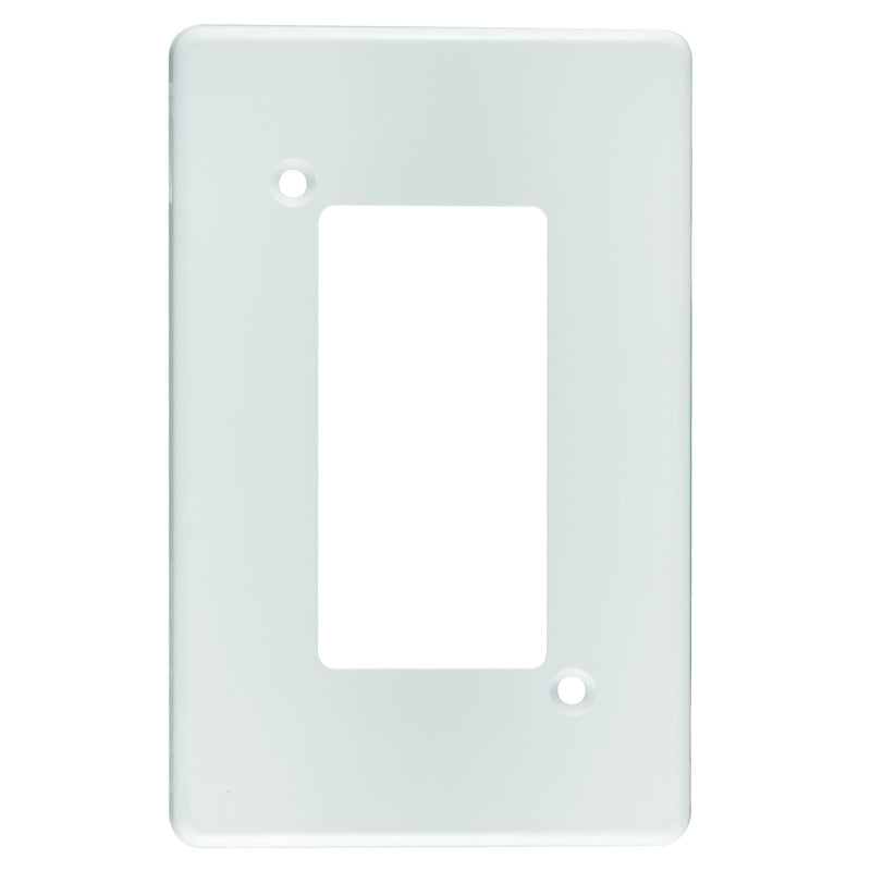 CRABTREE CLASSIC ISOLATOR COVERPLATE STEEL 4X2