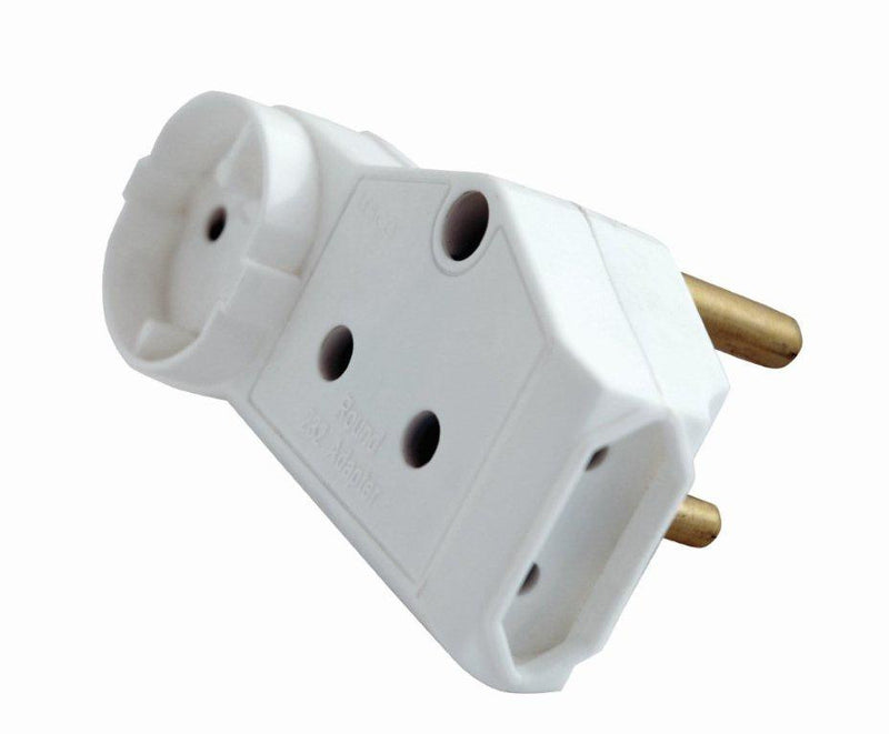 LESCO 1X SCHUKO & 1X15A OUTLET & 2X5A OUTLET ADAPTOR