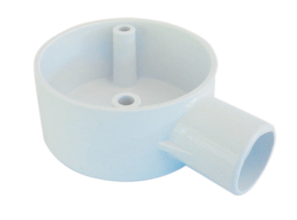 Electrical Boxes Conduit Fittings Pvc Conduit Box 20mm 1 Way White Wiring Connecting Electrical Boxes Conduit Fittings Wiring Connecting