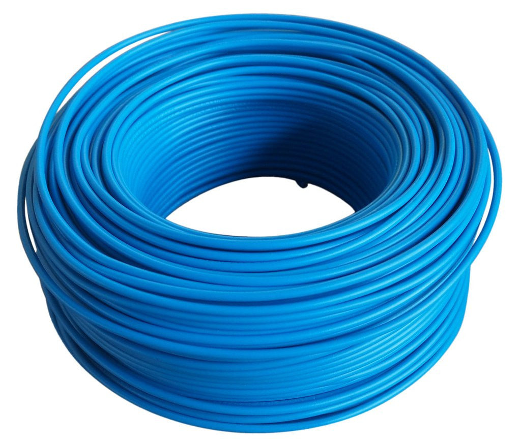 Gp House 15mm X 100m Blue Dynamic Distributors Pre Wiring Home Cable
