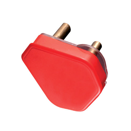 PLUG TOP DEDICATED 3 PIN 16A RED