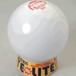RITE LITE: PLASTIC BOWL, PLASTIC GALLERY WITH A60 LED LAMP