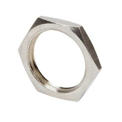 STEEL GALVANISED LOCKNUTS 32MM (PKT X100)