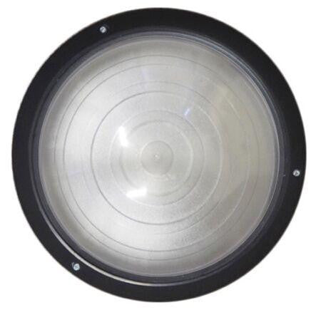 OGATIN ROUND BULKHEADS LED BLACK TRIM CLEAR LENS