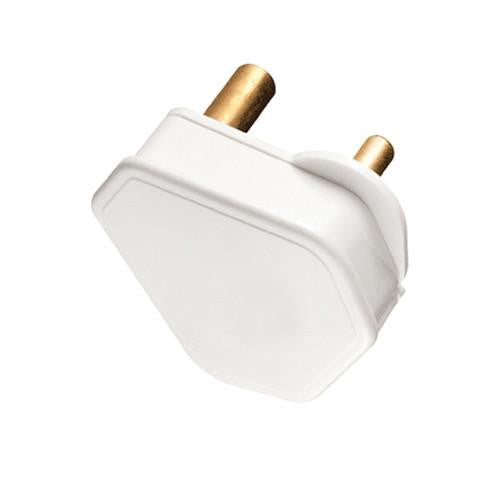 PLUG TOP 3 PIN 16A WHITE