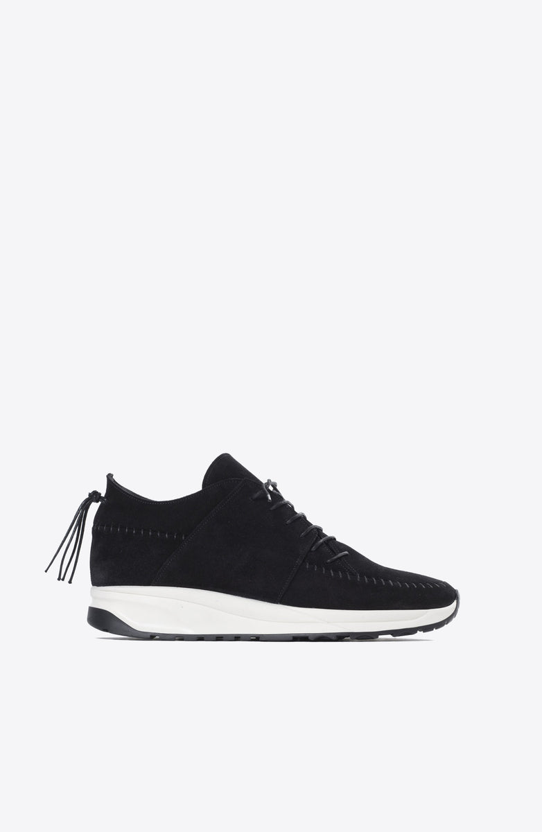 BLACK NATIVE RUN SHOES